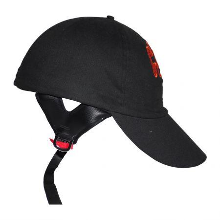 baseball hat style motorcycle helmet cap novelty helmets half under