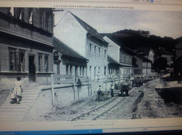U Plynárny, Michle, 1920