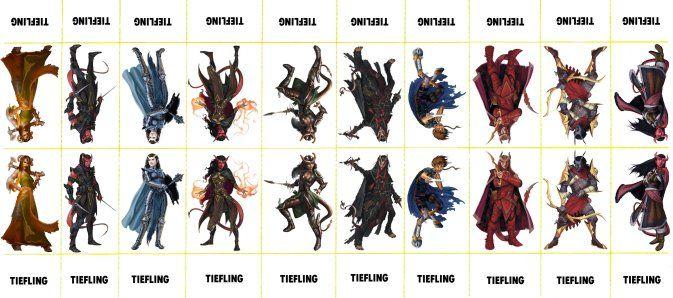 Unusual image inside d&d 5e monster tokens printable