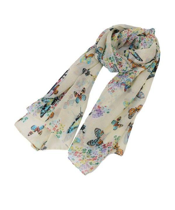 Women Star Printed Soft Chiffon Shawl Wraps Scarf Scarves Lady/'s Neck Warmer