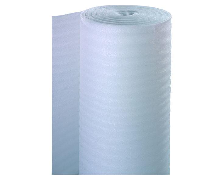Dämmunterlage PE-Schaum Light Weiche Unterlage für schwächer frequentierte Räume. Trittschalldämmung Zum Ausgleich von Unebenheiten Für Fußbodenheizung geeignet Vermindert Trittschallübertragung.