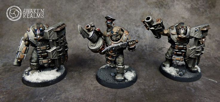 Traitor Chaos Imperial Guard Winter Themed Army By Awaken