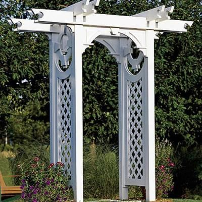 outside arbor designs Victorian Garden Arbor Plans