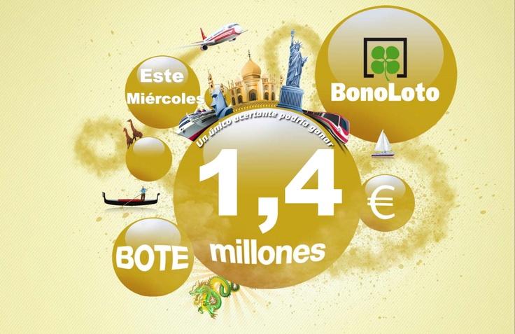 Bote, Bonoloto Miércoles 22/02/2012