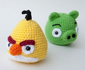Tutorial Amigurumi Angry Bird : Best angry birds family competition images angry