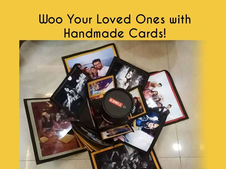 Woo Your Loved Ones with Handmade Cards! Contact – 8306853675 #Gifts #Gifting #Presents #Art #Craft #Handmade #Cards #Albums #Photoframes #ShapersCrafting #CityShorSurat
