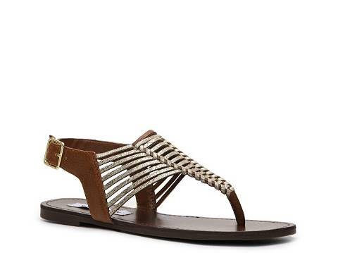 Steve Madden Starly Flat Sandal Dsw My Go To Summer