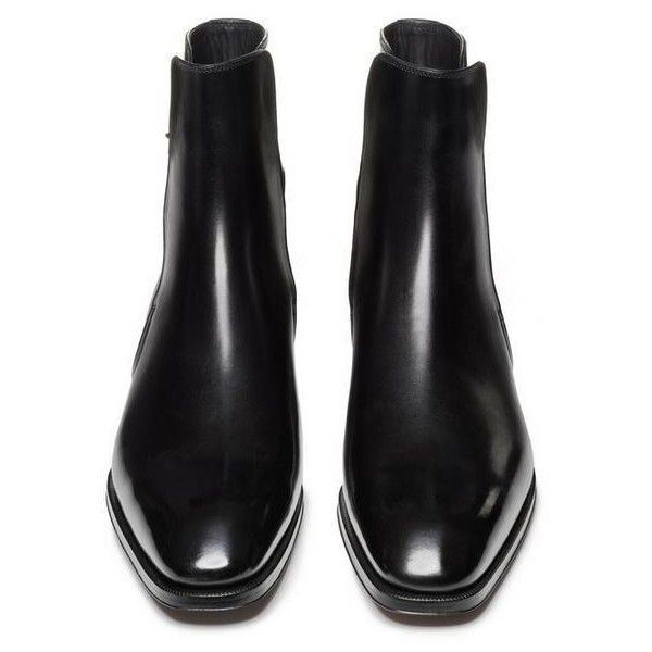 GIANNI CHELSEA BOOT (114.590 RUB) ❤ liked on Polyvore featuring shoes, boots, ankle booties, chelsea boots, chelsea ankle boots, beatle boots and chelsea bootie