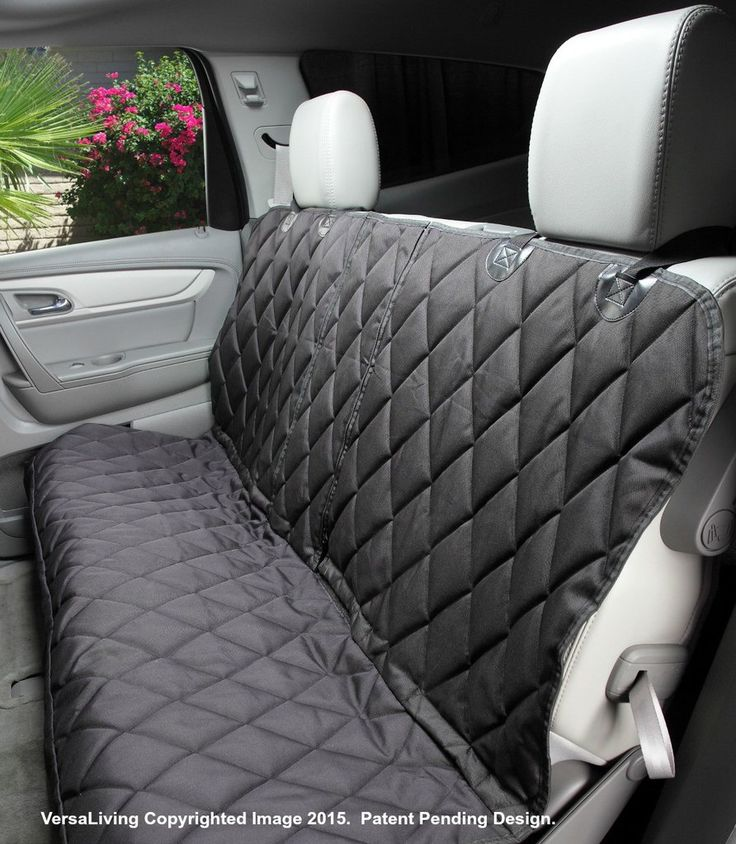 - Do you want to protect your back seat and use your MIDDLE SEAT BELT? Our new split seat cover will accommodate the middle seat belt, a 60/40 seat split or a 50/50 seat split. Our revolutionary PATEN