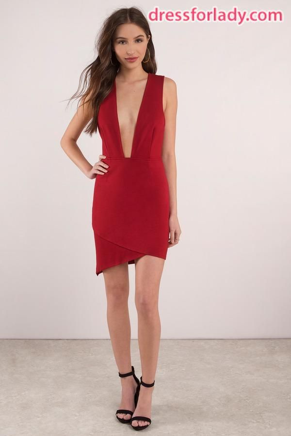 959f9e80b97a The Best Seductive Red Dress for Ladies Latest Fashion