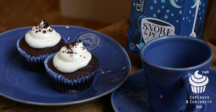 Vanilla hat cupcake