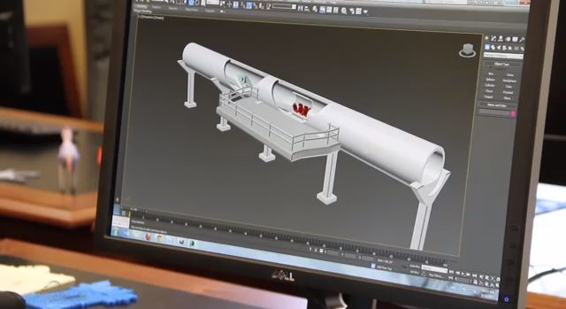 Elon Musk's Hyperloop Brought To Reality Through 3D Printing #technology