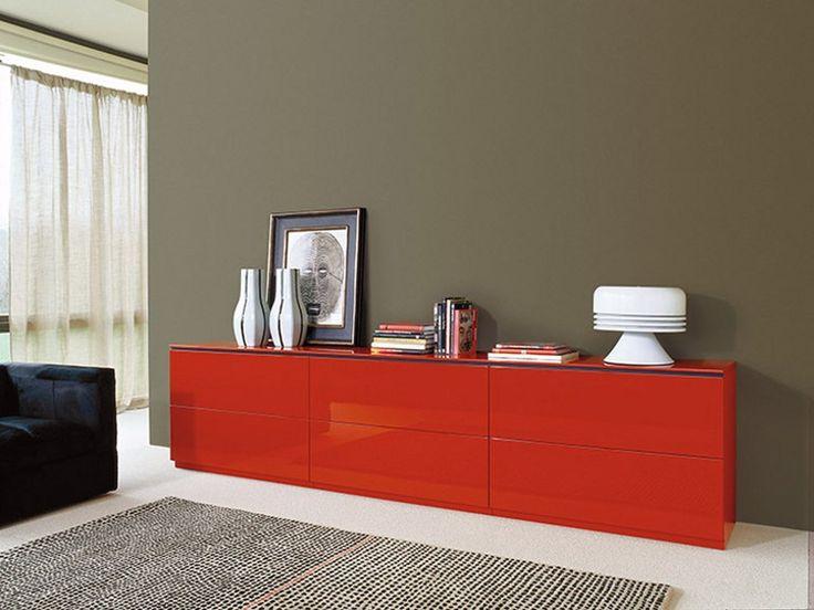 Lackiertes Sideboard mit Schubladen BDOS Kollektion Bdos by TREKU   Design TARTE