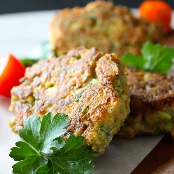 Broccoli Fritters - Lisa Corduff in the Kitchen
