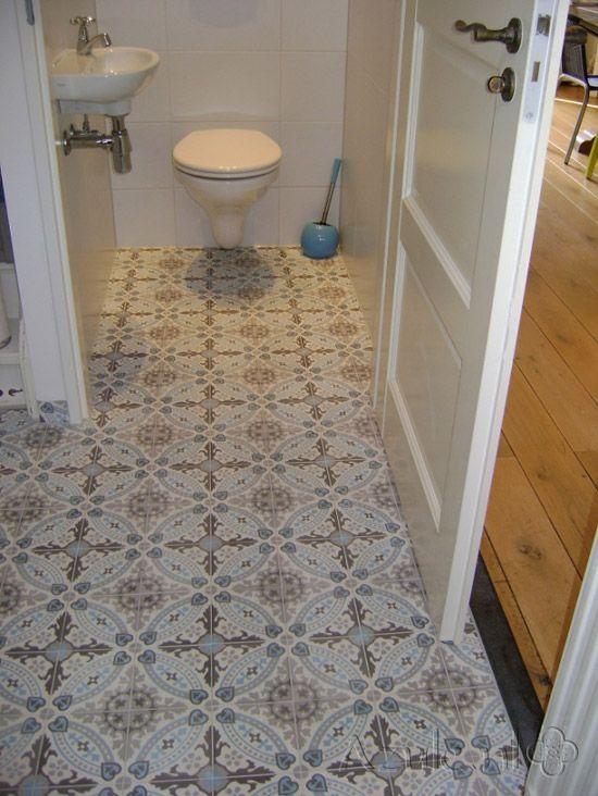 Portugese tegels voor toilet