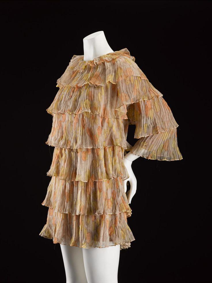 Dress, silk, Jean Muir designer for Jane & Jane, British, 1962-66