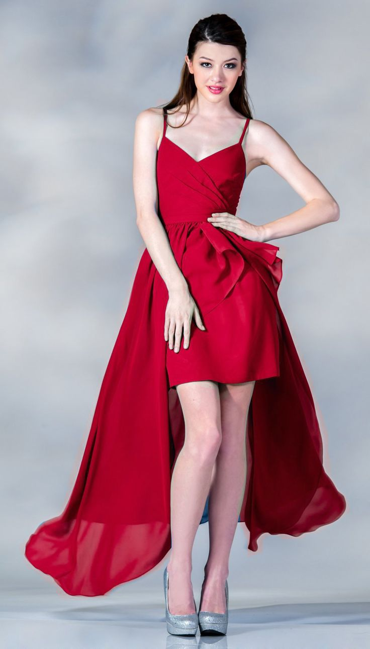 300 best choir dresses images on pinterest choir dresses clearance spaghetti strap dress red high low chiffon size xl ombrellifo Gallery