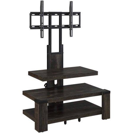 "Whalen 3 Shelf TV Stand with Mount for TV's up to 46"" Image 5 of 8"