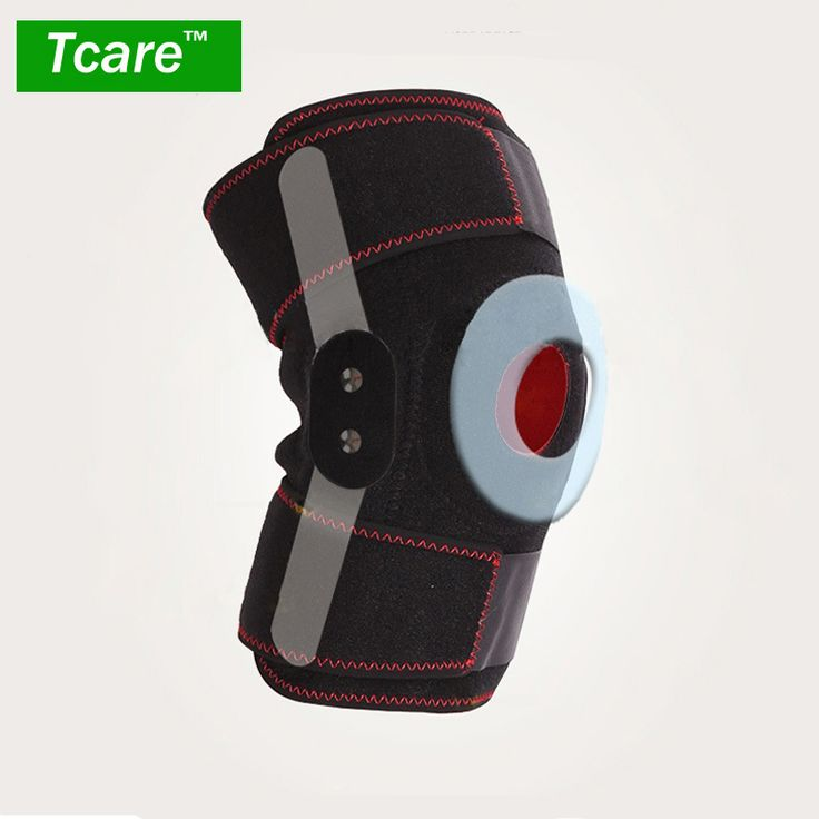 Tcare 1 Pcs Knee Care Brace Support Kneepad Adjustable Sports Knee Brace Protector Knee Pads Health Care Braces & Supports Tools