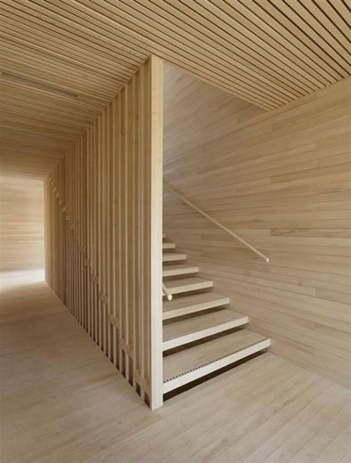 Wood wood wood! I couldn't do this throughout a whole house, but one area like this would be pretty awesome