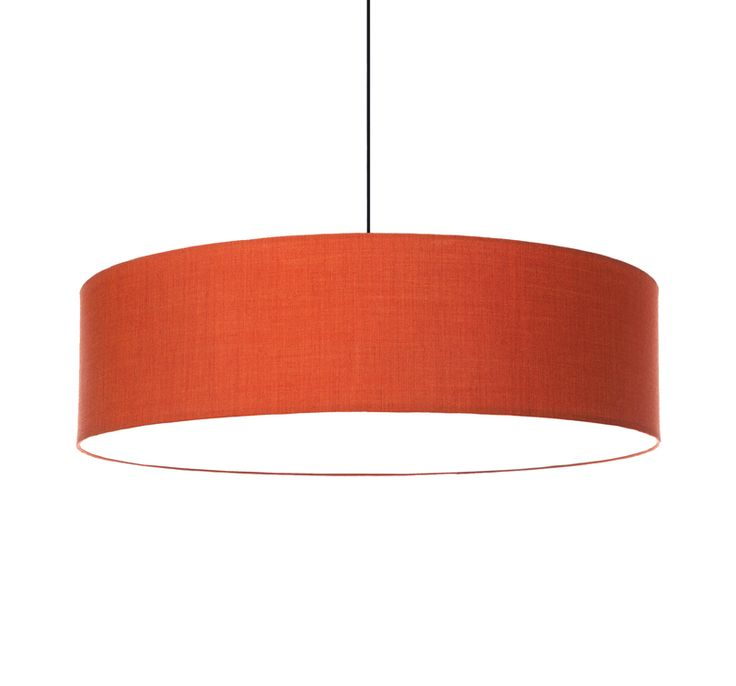 FAB 800 acoustic pendant with Remix 2 - orange 543