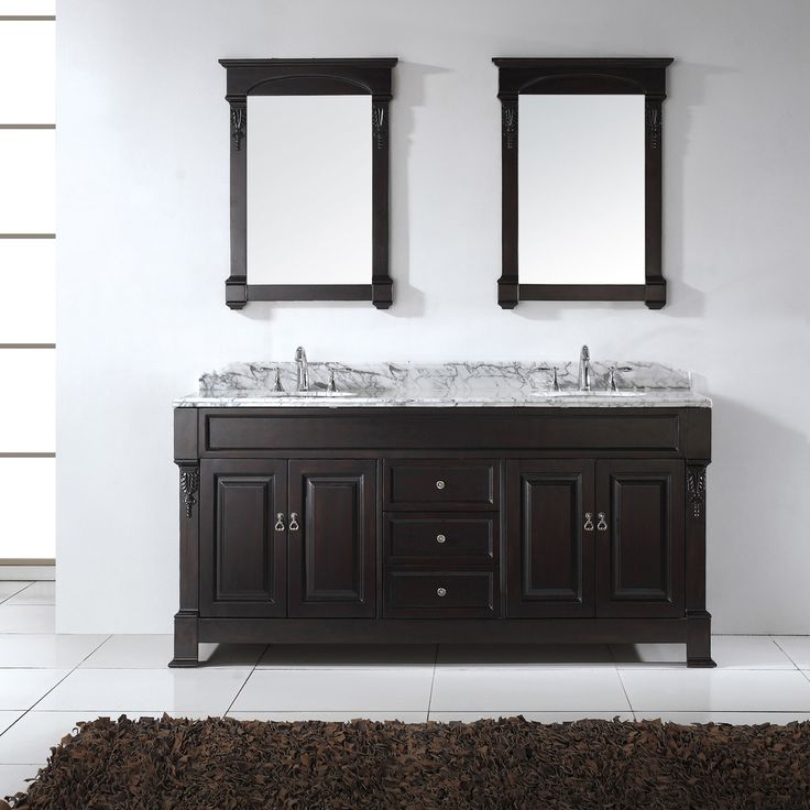 Photo Gallery For Website Virtu USA Huntshire inch Double Sink Bathroom Vanity Set Write a review
