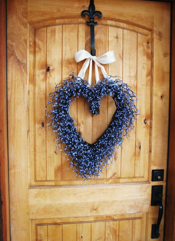MOTHERS DAY LAVENDER Scented WreathFront Door by WildRidgeDesign, $60.00