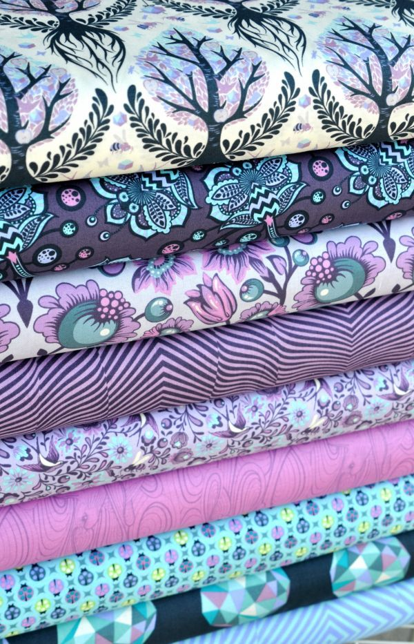Tula Pink!  Love her work, love these colors!