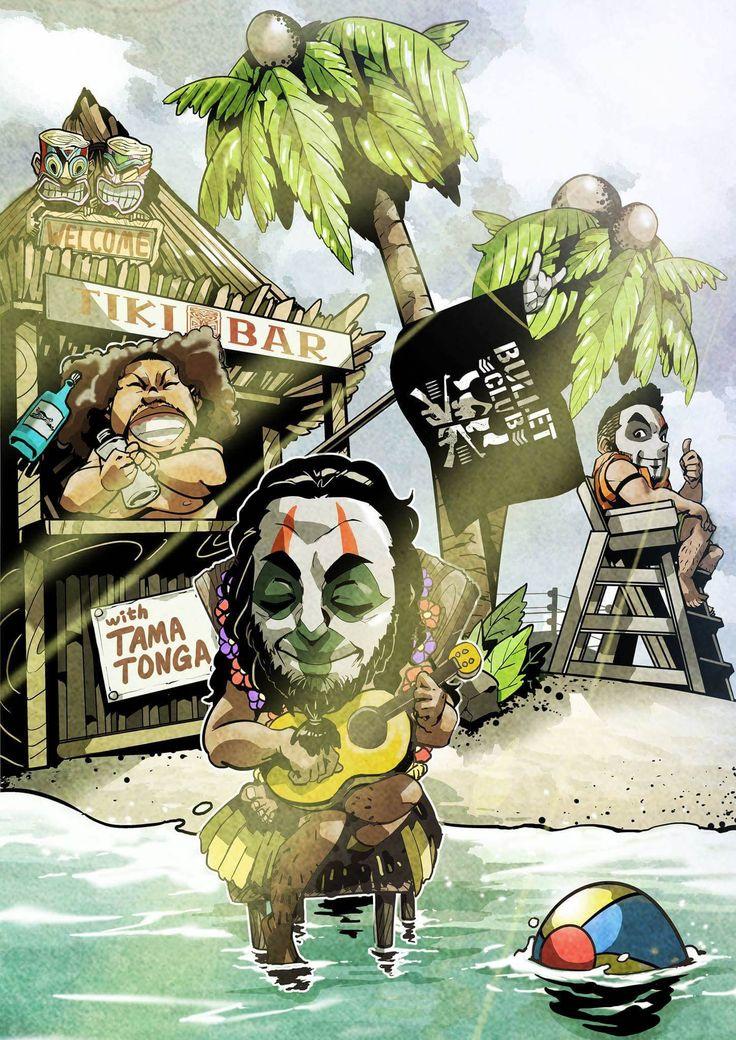 Tama Tonga and Tanga Loa