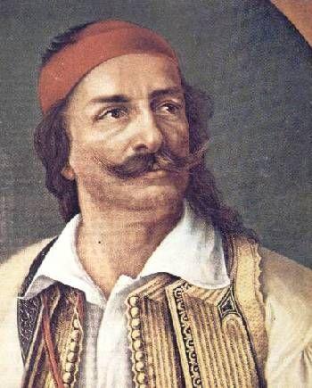 Veikos Lambros, heroe of the revolution.
