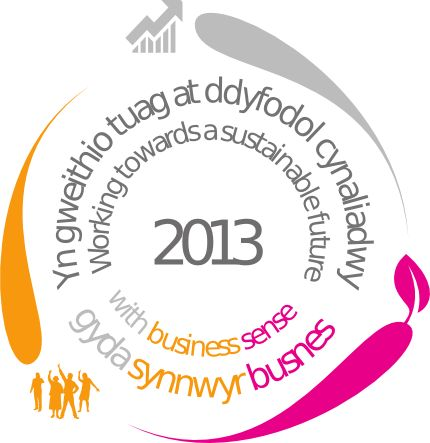 Sustainable Business Charter Mark that  demonstrates our commitment to sustainable development. #environmental #greenbusiness #wales www.webadept.co.uk