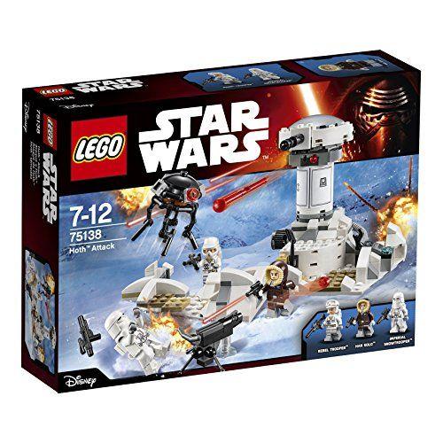 Lego - 75138 - Star Wars - Jeu de Construction - Hoth Att... https://www.amazon.fr/dp/B012NOJBIW/ref=cm_sw_r_pi_awdb_x_GUDmybBE5ZJ3B
