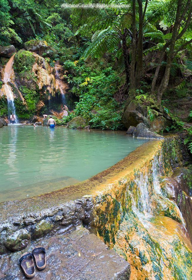 Caldeira Velha, Ribeira Grande - Ilha de São Miguel, Açores, Portugal