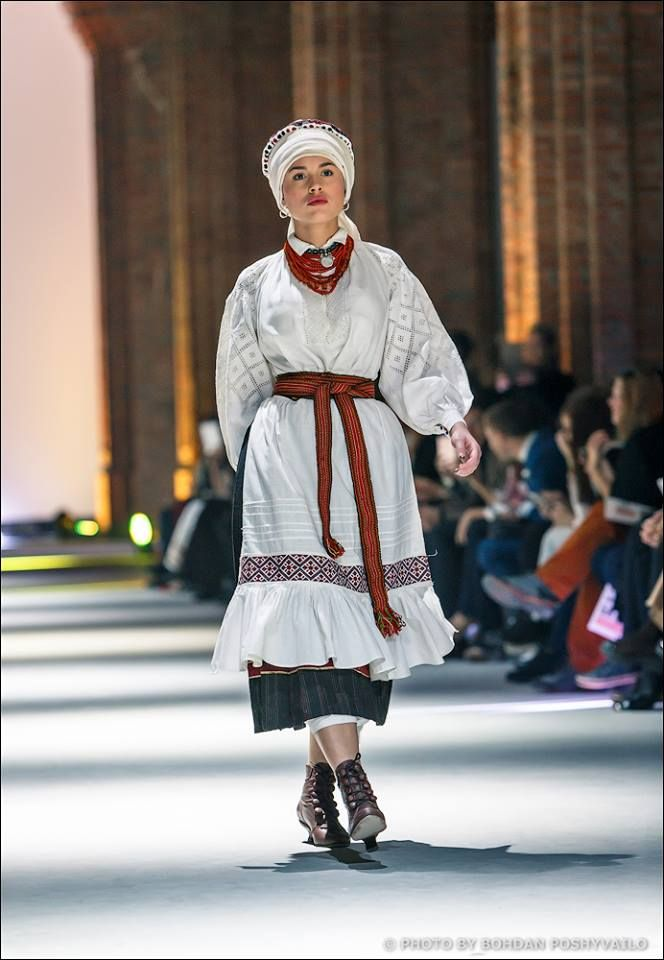Ukraine traditional folk costume photo Bohdan Poshyvailo