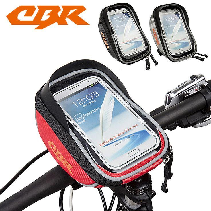 CBR 5,5 zoll 3 Farben Wasserdichte Outdoor Radfahren Mountain Road MTB Fahrrad tasche Rahmen Vorne Rohr Tasche für Handy telefon