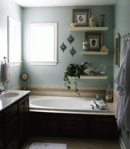 Creating inviting bathroom decor is an important element of staging home interiors for successful sale