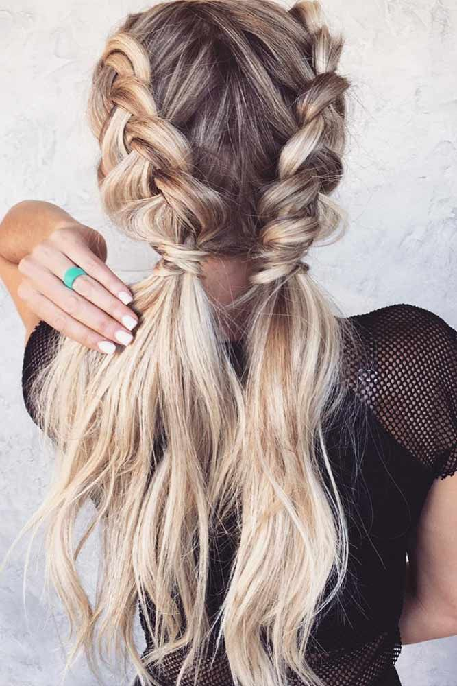 63 Amazing Braid Hairstyles For Party And Holidays Dutch Braid