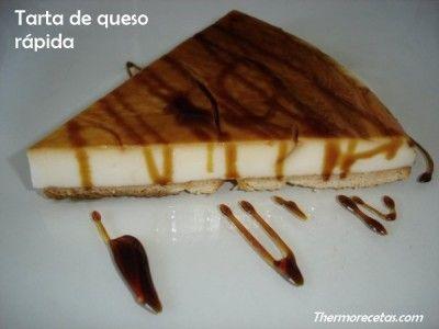 Tarta de queso rápida: Cake, Thermomix Dulce, Sweet Kitchen, Recetas Más, Thermomix Postres, Queso Rápida, Cheese, Recetas Thermomix, Pie