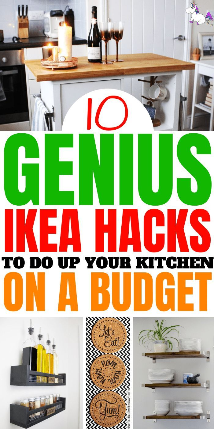 10 Genius Ikea Hacks to get your kitchen on a budget