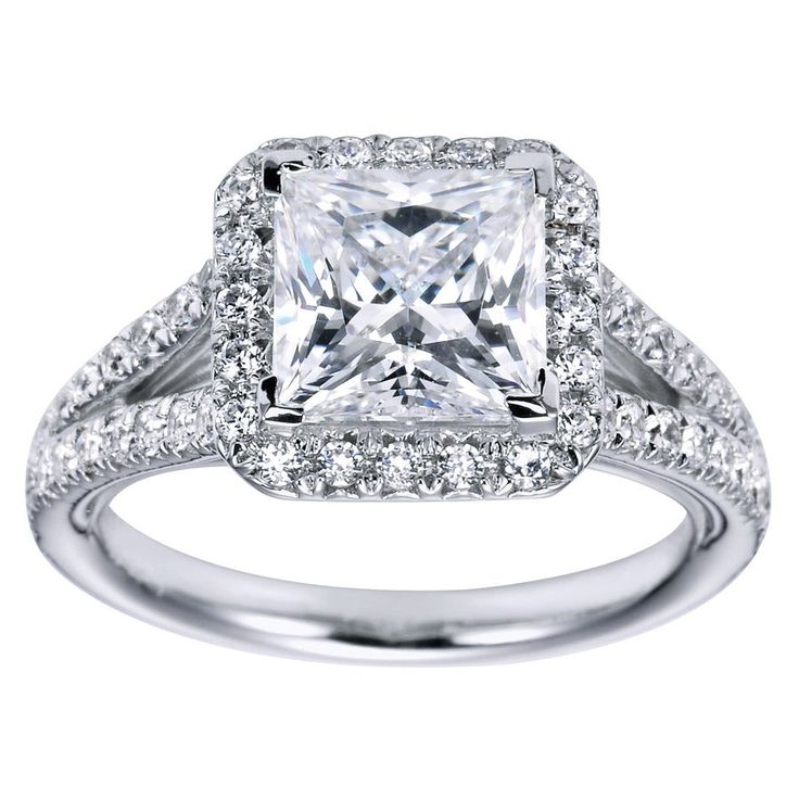 princess cut halo diamond engagement ring 10 pictures photos images