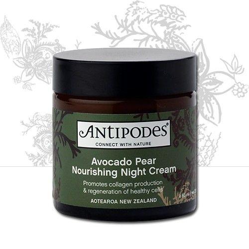 Antipodes - Avocado Pear Nourishing Night Cream. with - avocado oil, and manuka honey