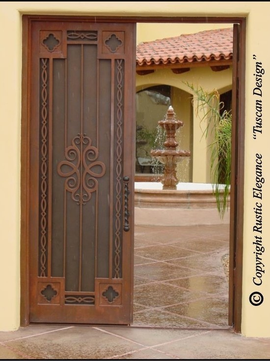 28 best mediterranean doors entry images on pinterest for Mediterranean style entry doors