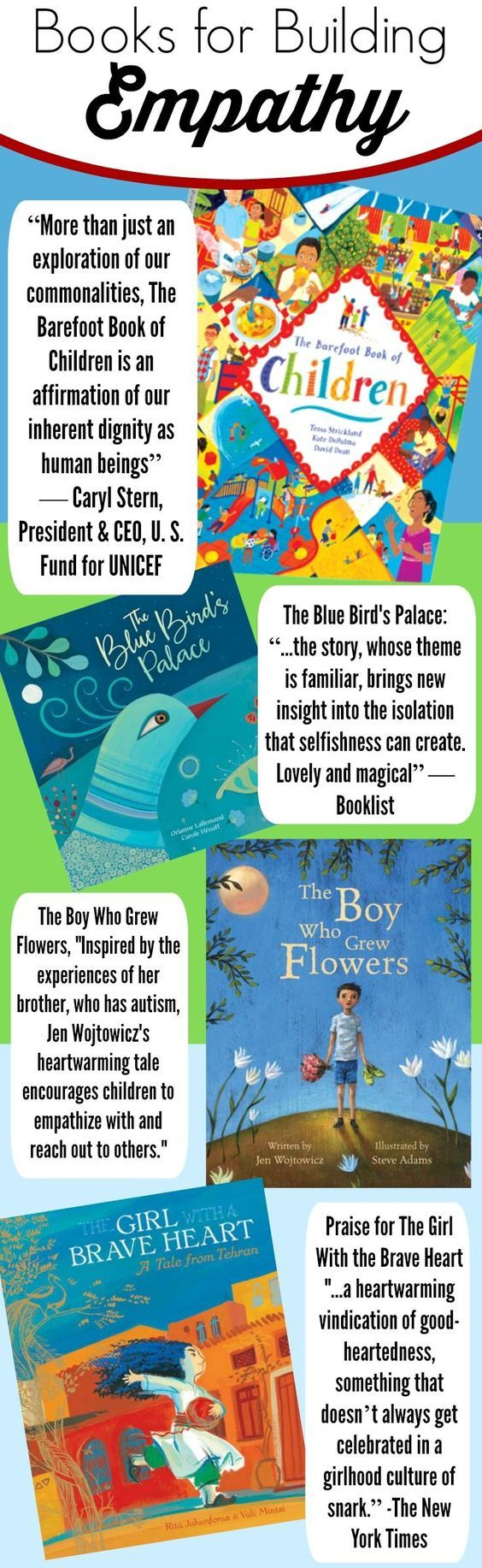 This Collection Of Books Is Great For Teaching Kids Empathy In A Number Of  Different Ways
