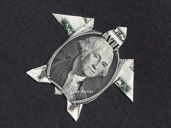SEA TURTLE Money Origami