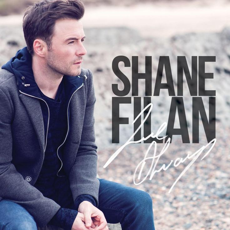 """Shane Filan of WESTLIFE is back with his third album, """"Love Always"""" featuring some all-time classic love ballads alongside new original songs. The 12 track album features some of Shane's fav ballads along with some fan suggestions, from all time classics like 'Make Me Feel My Love' and 'Eternal Flame' to new hits including 'Beautiful in White'.""""This is an album I've been wanting to make for a long time,..."""