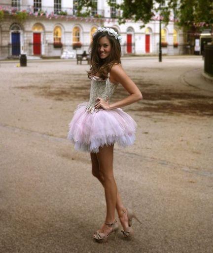 woman crush wednesday rosie londoner ballerina halloween costumehalloween - Dead Ballerina Halloween Costume