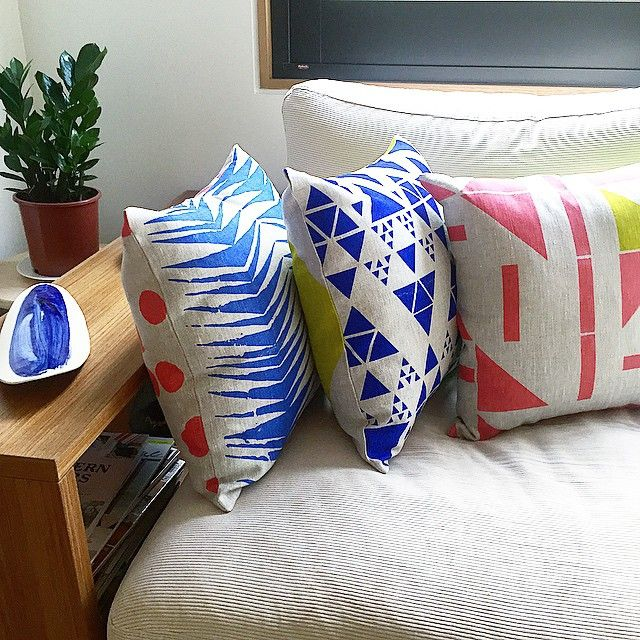 New colours for a special project! Coming soon! #homewares #cushions #colourbomb #dscolor #dspattern #screenprinting