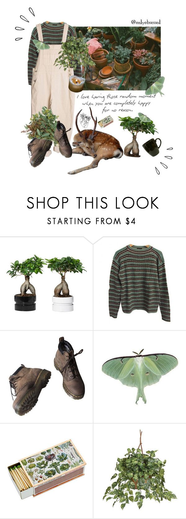 """""""Untitled #10"""" by onlyobsessed ❤ liked on Polyvore featuring Prada, Dr. Martens, Waechtersbach, Old Navy and Nearly Natural"""