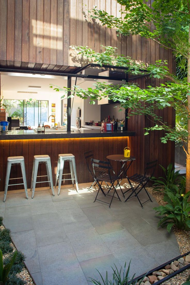 Love This Outdoor Bar. At A Home In Melbourne. Courtesy Better Homes U0026  Gardens