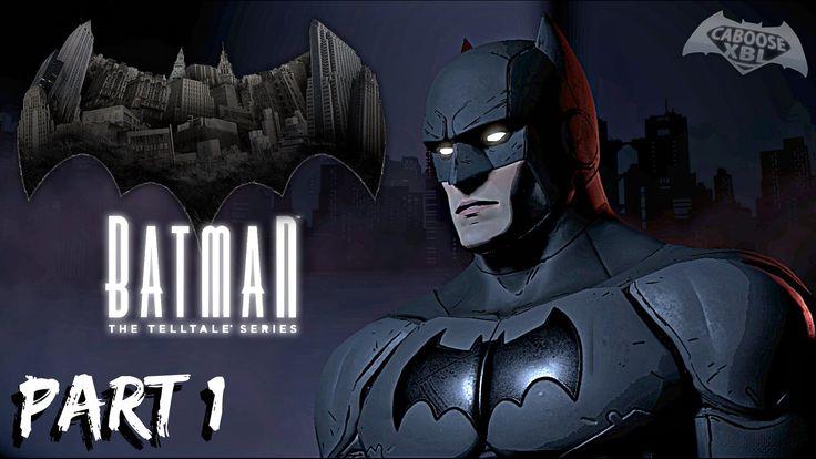 BATMAN VS CATWOMAN! - BATMAN: The Telltale Series Walkthrough Part 1 - YouTube